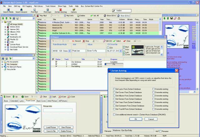 Zortam Mp3 Center Screenshot 3