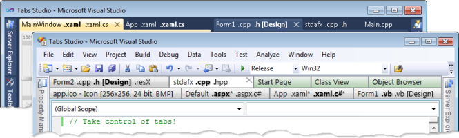 Tabs Studio Screenshot 1