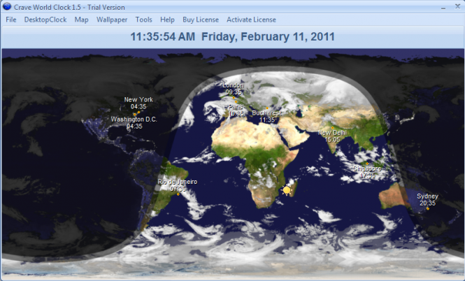 Crave World Clock Screenshot 8