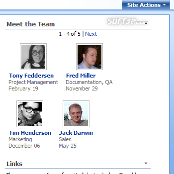 PeopleZen - SharePoint User Profiles Web Part Screenshot 3