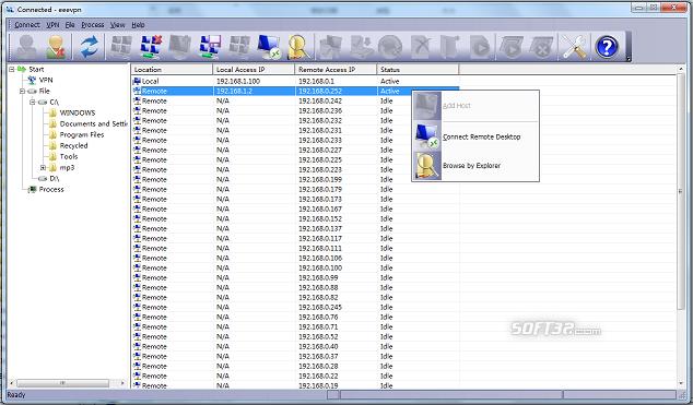 EeeVpn Screenshot 3