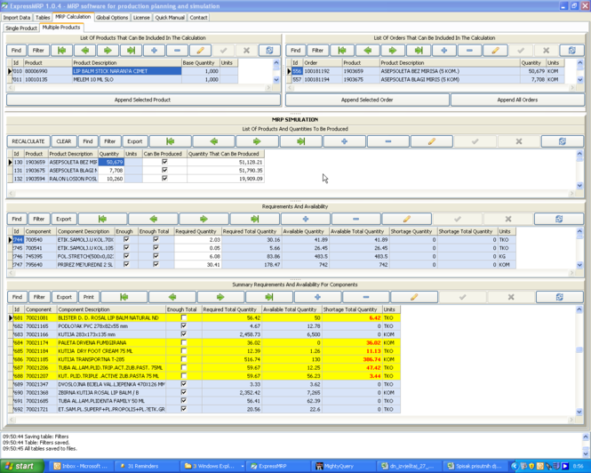 ExpressMRP Screenshot