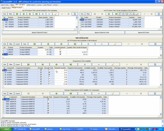 ExpressMRP Screenshot 2