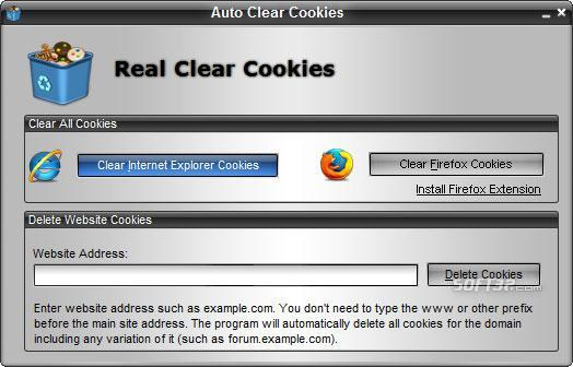 Real Clear Cookies Screenshot 1