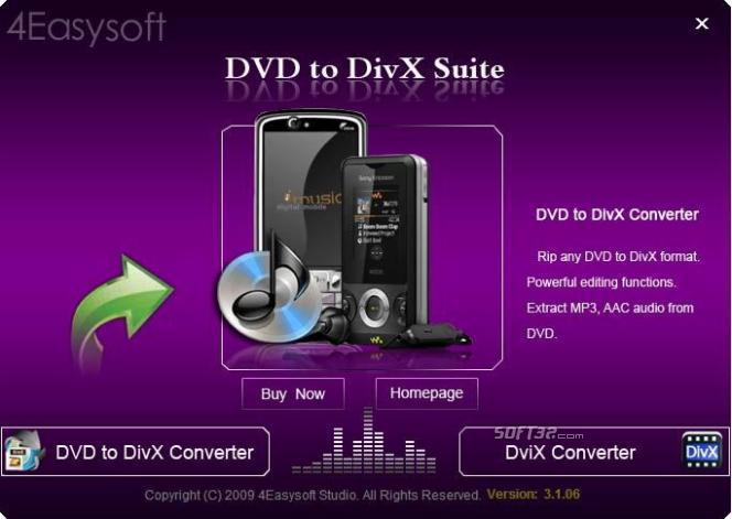 4Easysoft DVD to DivX Suite Screenshot 3