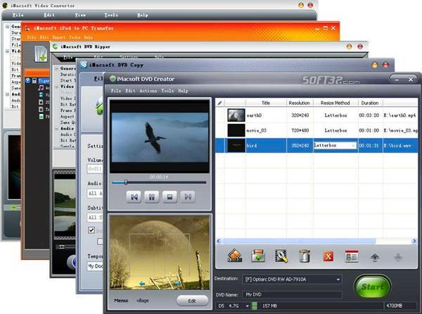 iMacsoft Media Toolkit Ultimate Screenshot 3