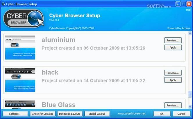 CyberBrowser Screenshot 3