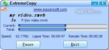 ExtremeCopy Library Screenshot 3