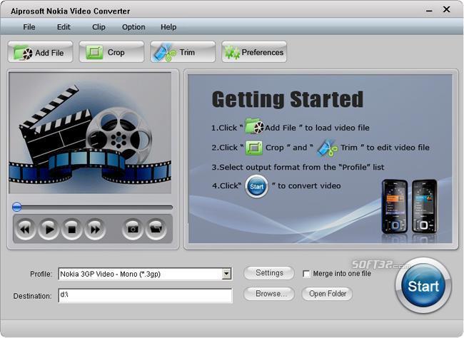 Aiprosoft Nokia Video Converter Screenshot 3