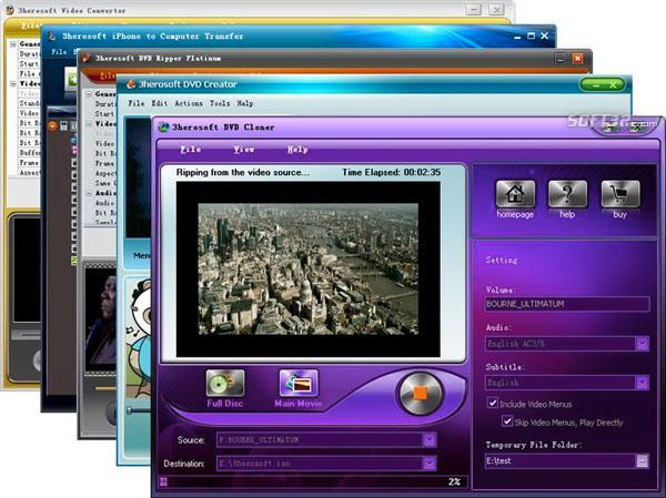 3herosoft Media Toolkit Ultimate Screenshot 3