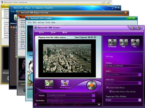 3herosoft Media Toolkit Ultimate Screenshot 1