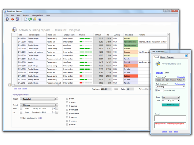 TimeGuard Pro Screenshot