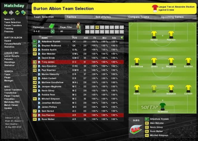 Matchday Screenshot 3