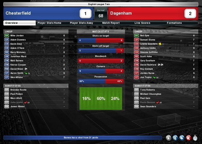 Matchday Screenshot