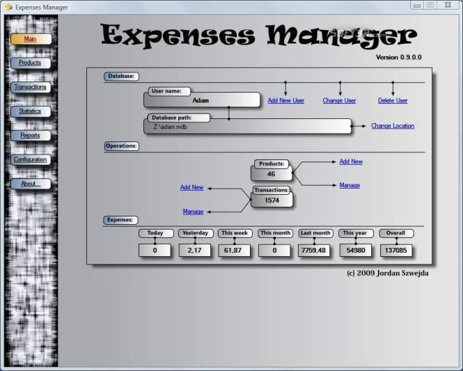 Expenses Manager Screenshot 3