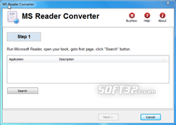 Microsoft Reader Converter Screenshot 3