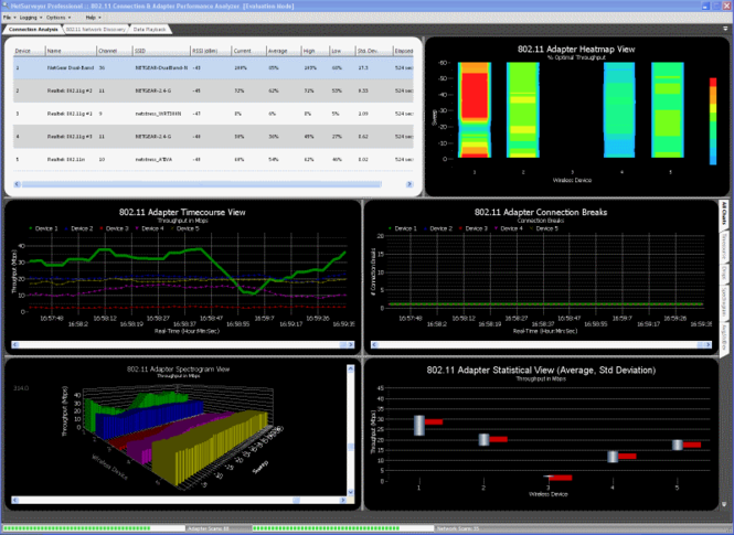 NetSurveyor-Pro Screenshot