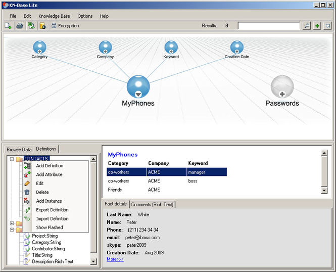 Knowledge Base Lite Screenshot