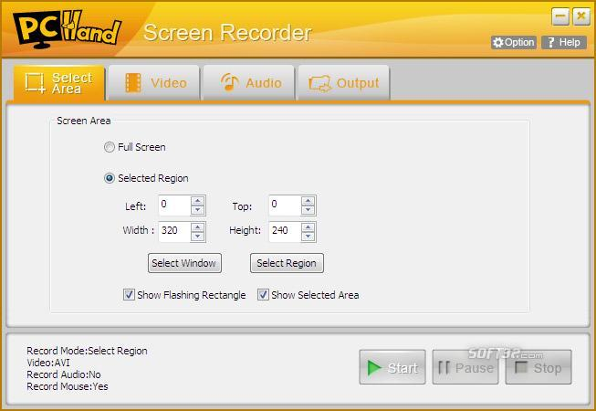 PCHand Screen Recorder Screenshot 2