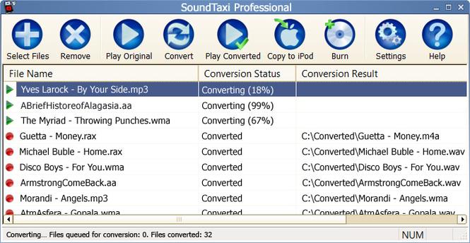 SoundTaxi Professional Screenshot 1