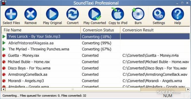 SoundTaxi Professional Screenshot 3