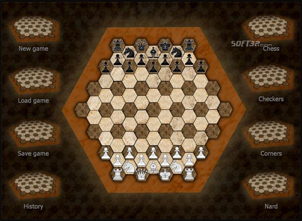 Hexagonal Chess Screenshot