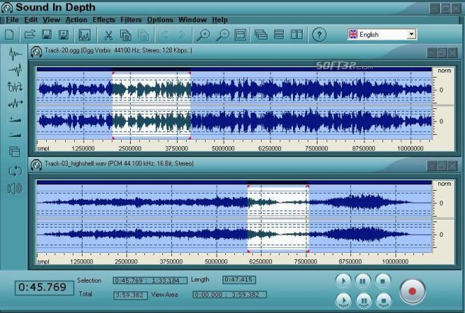 Free Sound InDepth Screenshot 3