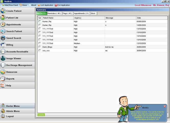 Medtrix Screenshot
