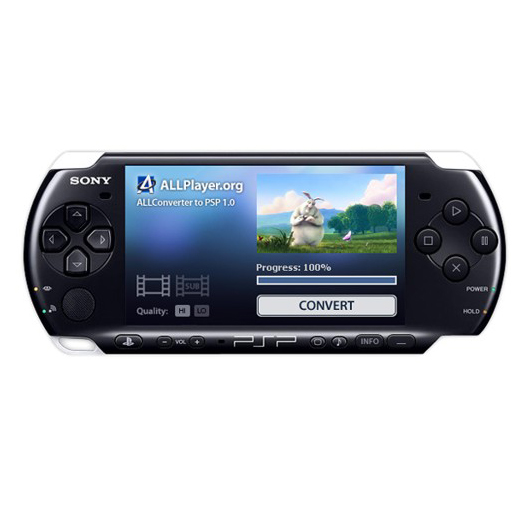 ALLConverter to PSP Portable Screenshot