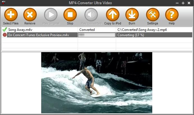 MP4-Converter Professional Screenshot 1