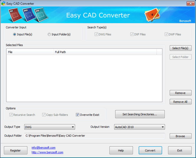 Easy CAD Converter Screenshot