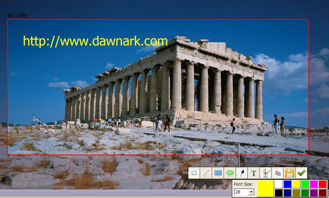 DawnArk Screen Recorder Screenshot 1