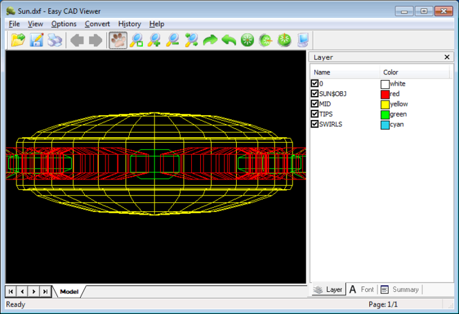 Easy CAD Viewer Screenshot