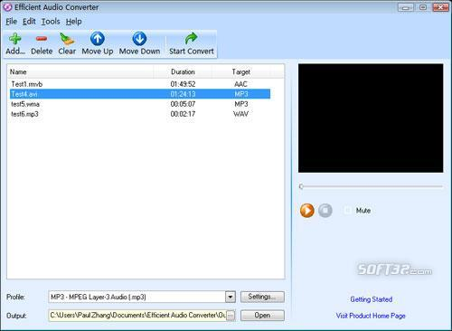 Efficient Audio Converter Screenshot 2