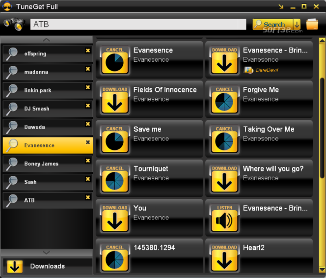 TuneGet Full Screenshot 3