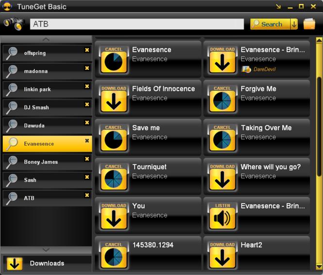 TuneGet Basic Screenshot 1