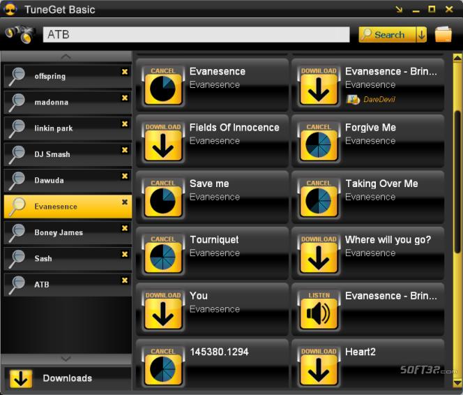 TuneGet Basic Screenshot 3