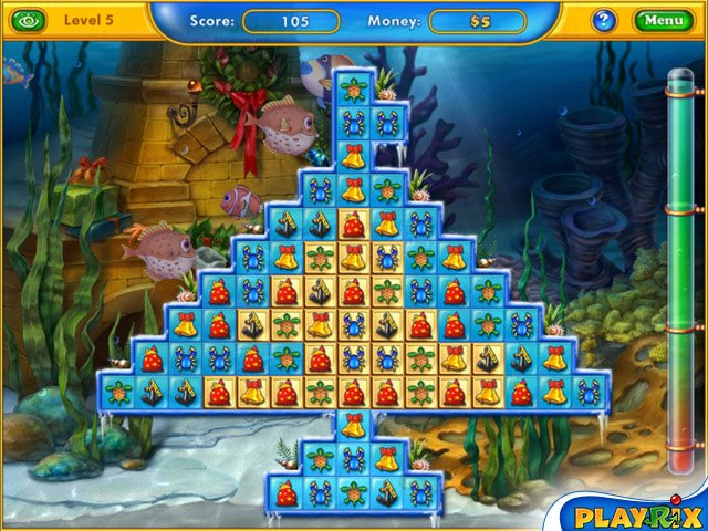 Playrix Fishdom: Frosty Splash Screenshot