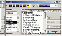 Special Dictionaries English <-> German PC Screenshot