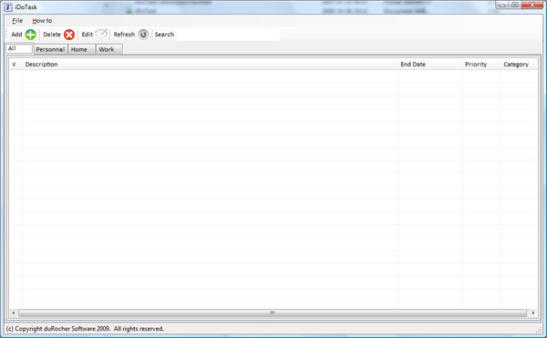 iDoTask manager Screenshot