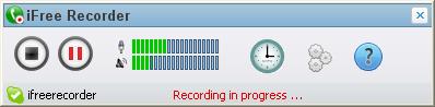 iFree Skype Recorder Screenshot 1