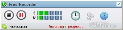 iFree Skype Recorder Screenshot 2