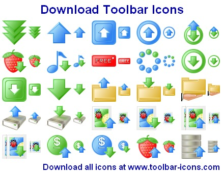 Download Toolbar Icons Screenshot