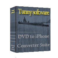DVD to iPhone Converter Suite Tool Screenshot