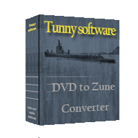 DVD to Zune Converter tool Screenshot 1