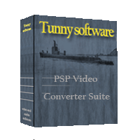 PSP Video Converter Suite Tool Screenshot