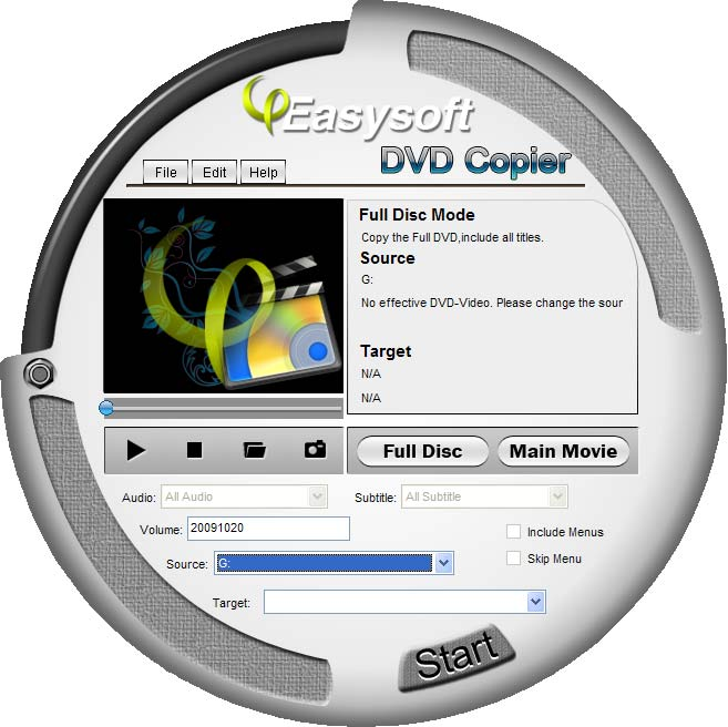 4Easysoft DVD Copier Screenshot