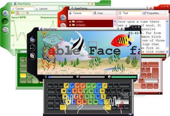 Portable Rapid Typing Tutor Screenshot 2