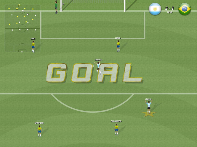 Awesome Soccer Screenshot 1