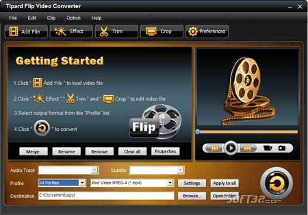 Tipard Flip Video Converter Screenshot 2